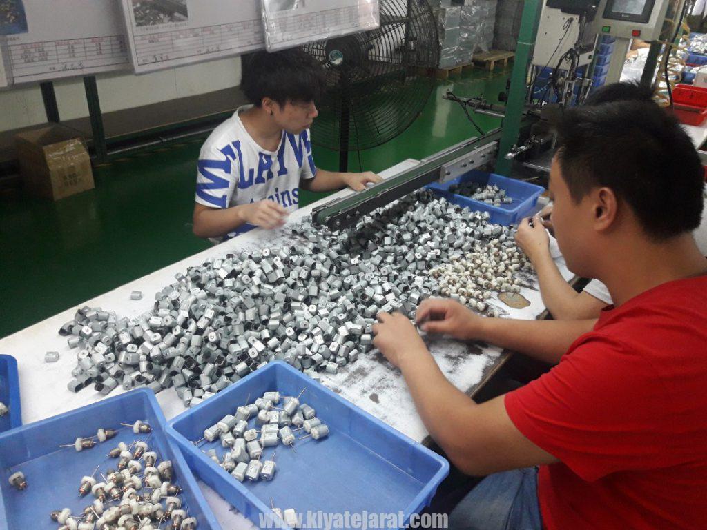 واردات عمده از چین