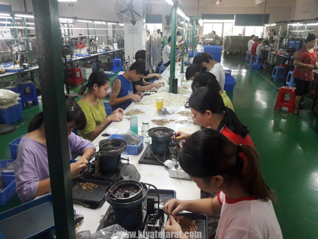 واردات عمده لوازم و قطعات از چین